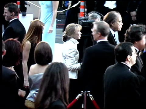 sissy spacek at the 2002 academy awards arrivals at the kodak theatre in hollywood, california on march 24, 2002. - sissy spacek stock videos & royalty-free footage