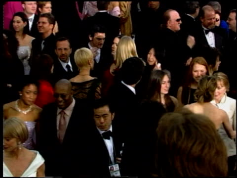 sissy spacek at the 2002 academy awards at the kodak theatre in hollywood, california on march 24, 2002. - sissy spacek stock videos & royalty-free footage