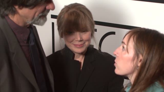 sissy spacek at the film critics awards at intercontinental in los angeles, california on january 12, 2008. - 評論家点の映像素材/bロール
