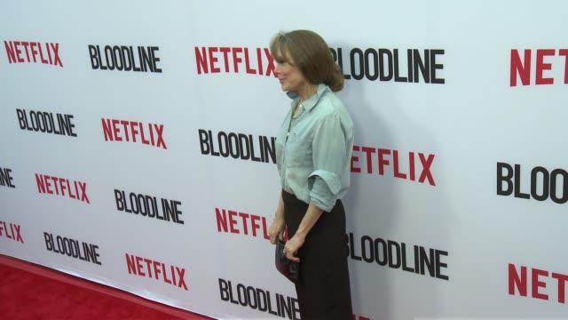 "sissy spacek at the netflix's ""bloodline"" season 3 red carpet at arclight cinemas on may 24, 2017 in culver city, california. - sissy spacek stock videos & royalty-free footage"