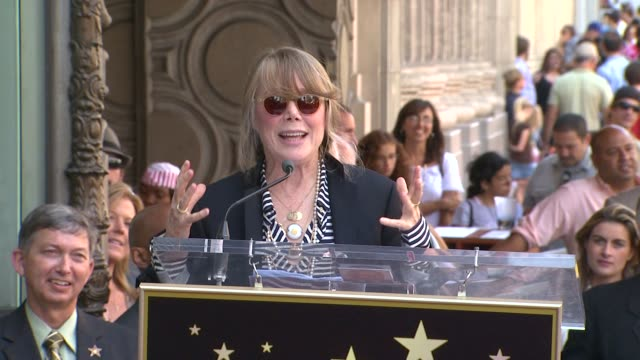 sissy spacek at the sissy spacek to be honored with star on the hollywood walk of fame at hollywood ca. - sissy spacek stock videos & royalty-free footage