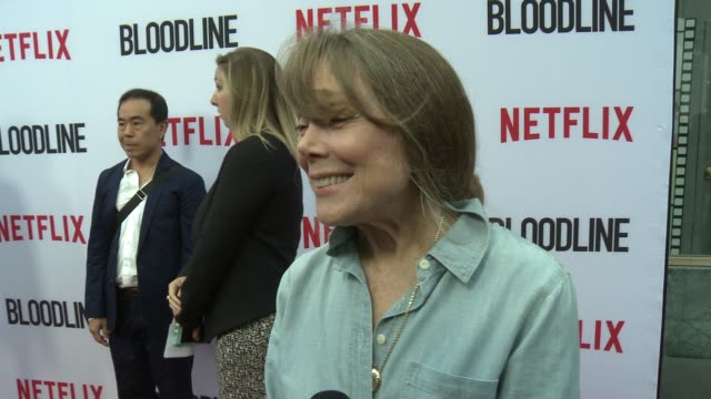 sissy spacek on where season 3 will pick up, why the rayburns have such a hard time doing the right thing and what it was like filming the final... - sissy spacek stock videos & royalty-free footage
