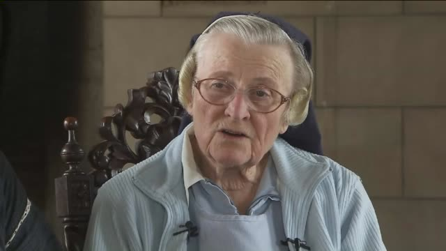 ktla sister catherine rose talks about the battle with la archdiocese over plan to sell former convent to singer katy perry the catholic archdiocese... - former stock videos & royalty-free footage