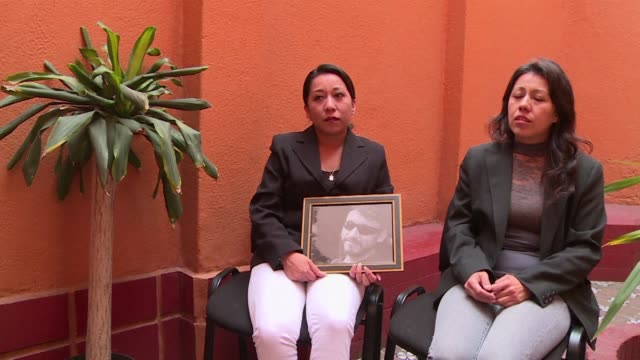 sisters of slain mexican photojournalist ruben espinosa denounce inconsistencies in the investigation four months after his gruesome murder - photojournalist stock videos & royalty-free footage