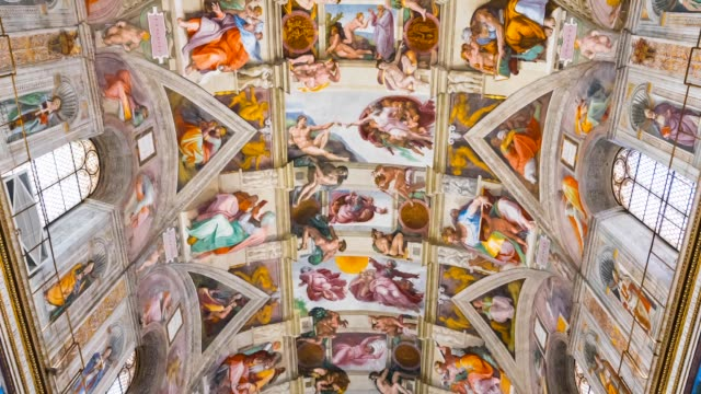 Sistine Chapel in Vatican Museums