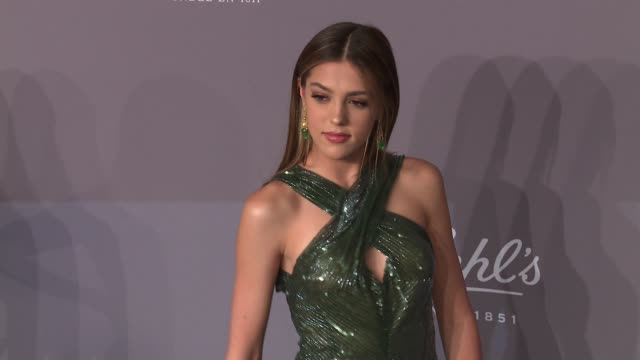 sistine stallone at the 20th annual amfar gala new york at cipriani wall street on february 07 2018 in new york city - amfar stock videos & royalty-free footage