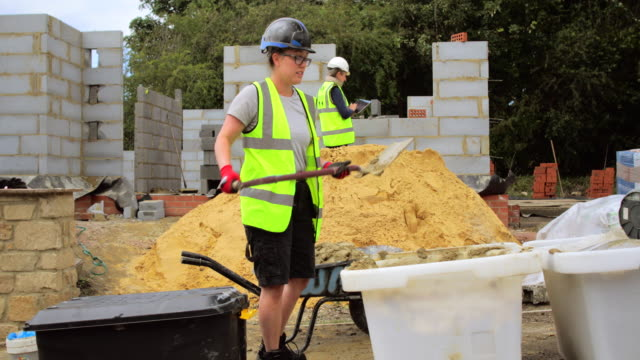 site manager assessing work - construction worker stock videos & royalty-free footage