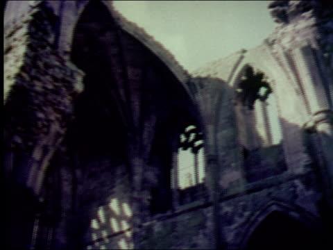 1953 sites of sottish history - gotik stock-videos und b-roll-filmmaterial