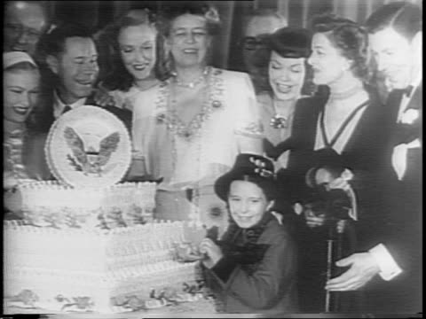 Image result for fdr's birthday party 1945 margaret o'Brien