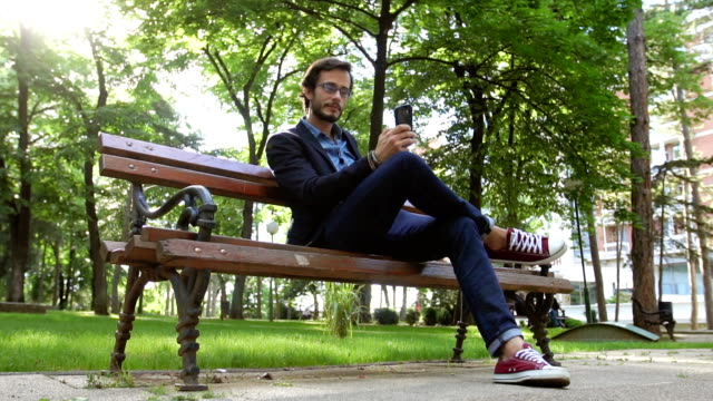 Vergadering in park