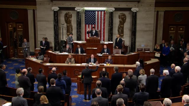 six days after special election win to replace former congressman jason chaffetz john curtis is sworn in by house speaker paul ryan and delivers... - house of representatives stock videos & royalty-free footage