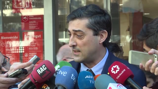 six former catalan ministers who were remanded in custody last month will be released on bail of 100000 euros each as an investigation into charges... - bail cricket stump stock videos & royalty-free footage