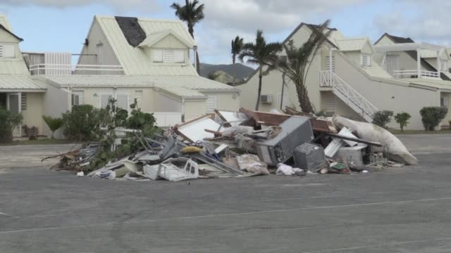 Six months after the deadly devastation of Hurricane Irma Saint Martin is rebuilding but the scars left by the storm still serve as a backdrop to the...