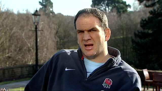Six Nations Championship Mike Tindall photocall and interview / Martin Johnson interview Martin Johnson interview SOT On the opening game against...