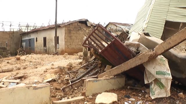 six people died after a primary school collapsed at a town near jos central nigeria the national emergency management agency nema said on monday - jos nigeria stock videos & royalty-free footage