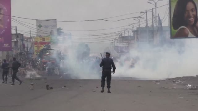 Six people have been killed in the Democratic Republic of Congo according to the UN as the authorities crack down on a banned protest against...