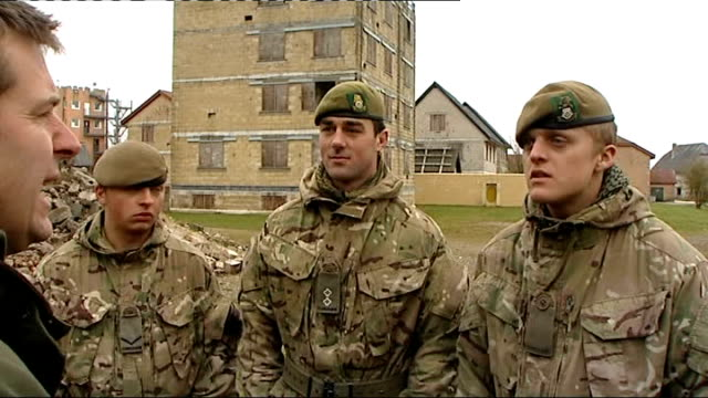 interview soldiers on Salisbury Plain ENGLAND Wiltshire Salisbury Plain EXT Pte Craig Taylor SOT It's our job Been training for last 9 months Take...
