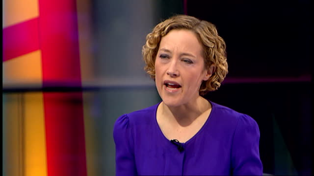six suspects arrested for alleged gang rape of woman on bus in punjab night london gir int cathy newman asking question sot reporter to camera - cathy newman stock-videos und b-roll-filmmaterial