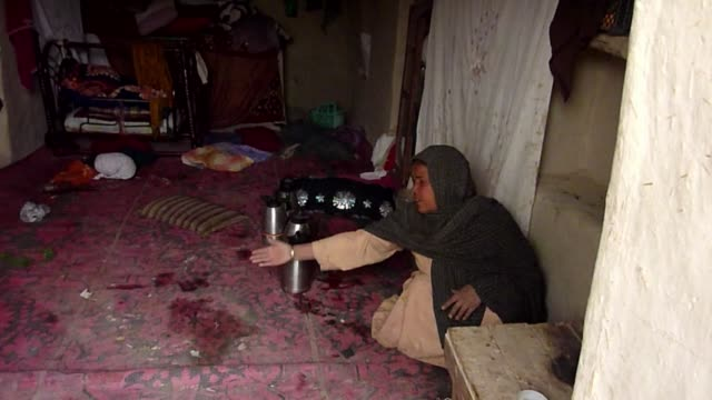 vídeos de stock e filmes b-roll de sixteen afghans including women and children were killed in their homes by a rogue us soldier in a predawn rampage sunday plunging relations between... - kandahar