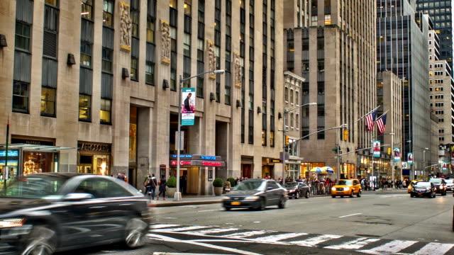 Sixth Avenue & 50nd Street Manhattan