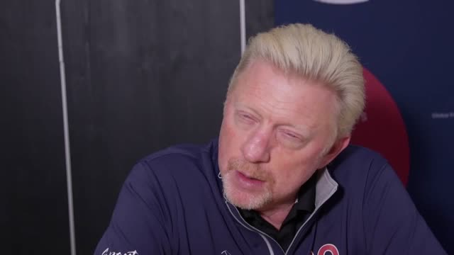 six-time grand slam winner boris becker says that if you had asked him a year ago he would not have thought andy murray could make a comeback into... - hip stock videos & royalty-free footage