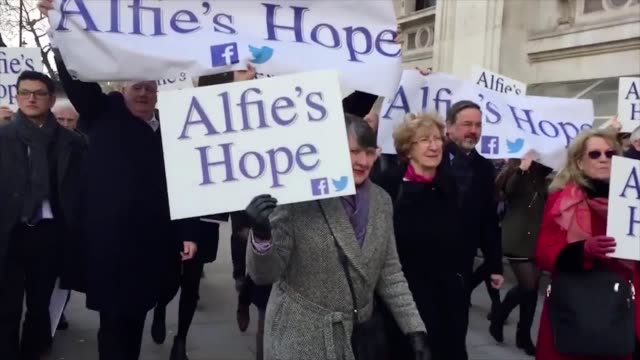 sixyearold alfie dingley who suffers with epilepsy along with his parents sir patrick stewart and supporters hand a petition in to downing street... - petition stock videos & royalty-free footage