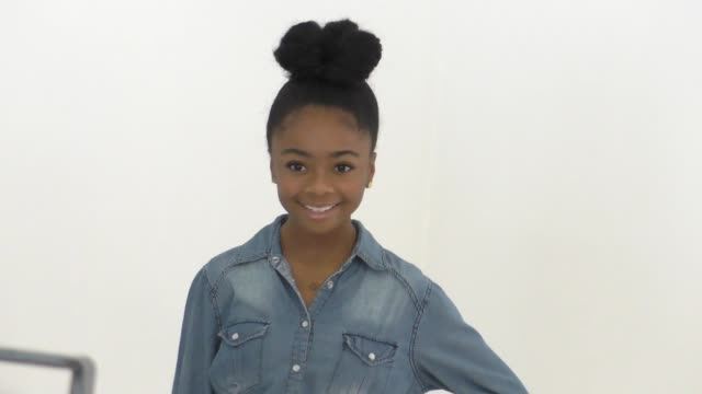 Skai Jackson at the Elizabeth Glaser Pediatric AIDS Foundation's 27th Annual A Time For Heroes on October 23 2016 in Hollywood California