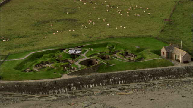 skara brae - 40 seconds or greater stock videos & royalty-free footage