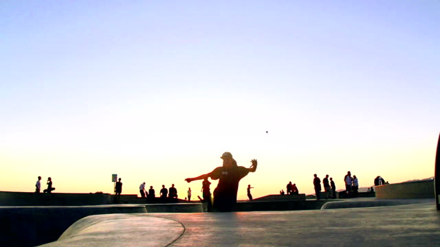VARI FRAME RATE - Skateboard in Venice