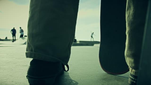 Skateboarders Watching Friends