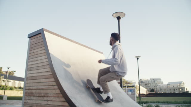 skateboarding is my escape - half pipe stock videos & royalty-free footage