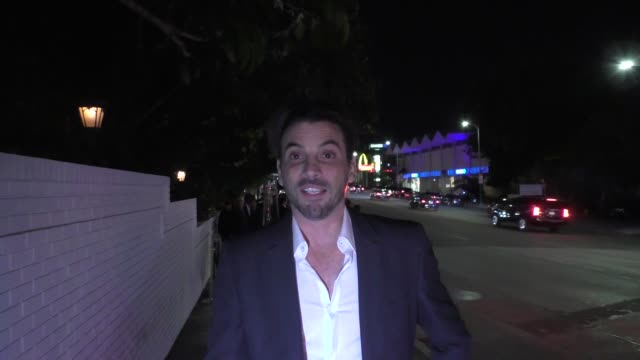 Skeet Ulrich at the 2017 GQ Men Of The Year Dinner Party at Chateau Marmont in West Hollywood in Celebrity Sightings in Los Angeles