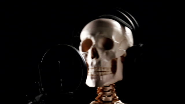 Skeleton Disc Jockey, 3 parts