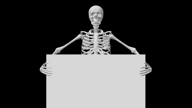 Skeleton Green Screen