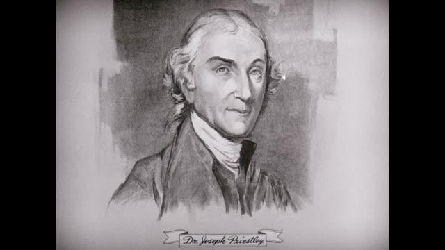 CU ZI Sketch of Dr. Joseph Priestley / United States