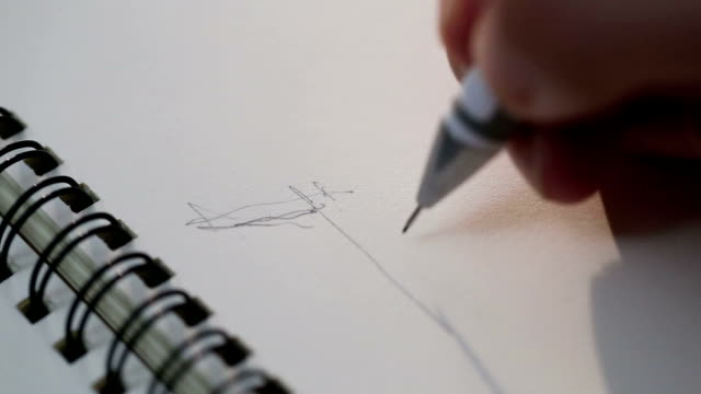 stockvideo's en b-roll-footage met sketch - tekening