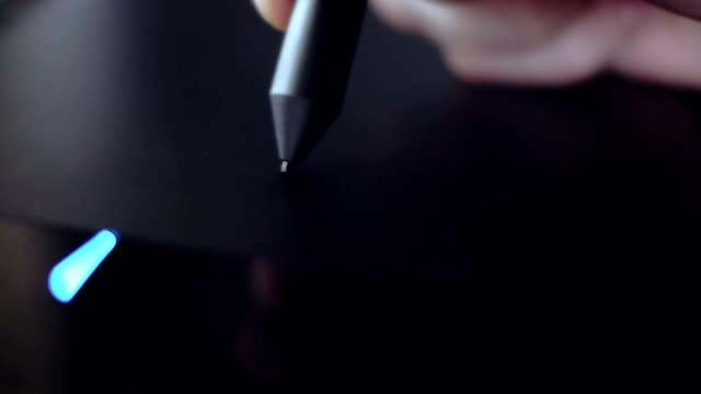 Sketching with digital tablet