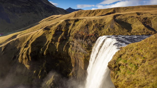 Skógafoss, Iceland - Time Lapse