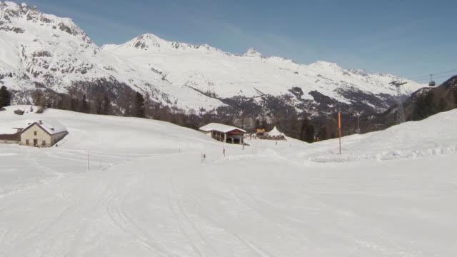 Ski Hut and Chairlift