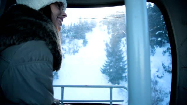 Ski lift driving