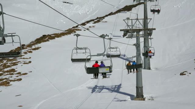 Ski lift Oberjoch at First, Grindelwald, Bernese Oberland, Canton of Bern, Switzerland