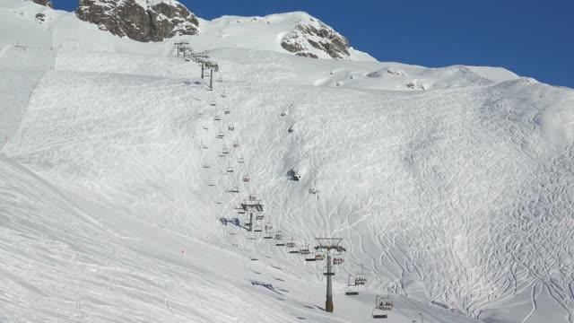 ski lift - ski slope stock videos & royalty-free footage
