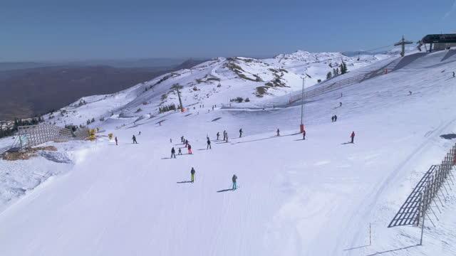 ski resort - ski holiday stock videos & royalty-free footage