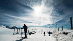 Ski Slopes.