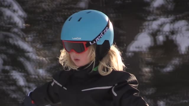 Ski tracks surrounded by scotch pine forests and natural beauty are attracting visitors in their thousands to the Cibiltepe Ski Center in Sarikamis...