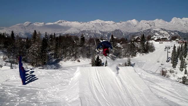 スキージャンプトリック