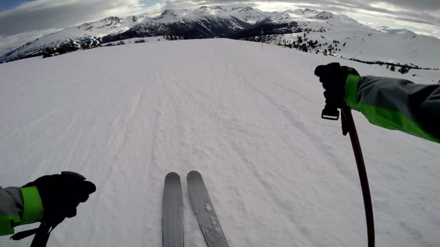 Skiers Point of View