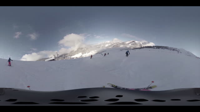 Skiing downhill part 1
