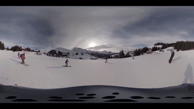 Skiing downhill part 2