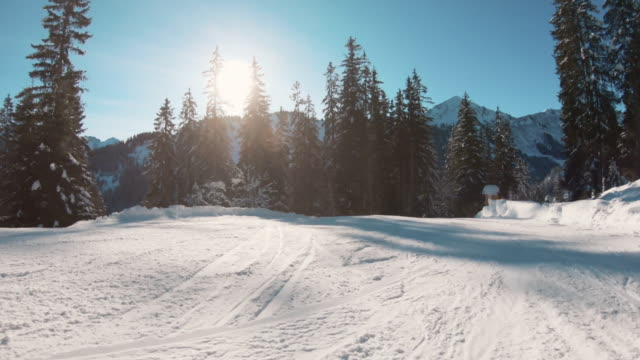 skiing downhill - austria stock videos & royalty-free footage